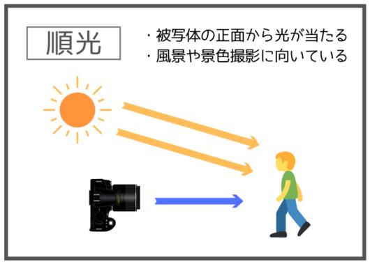 順光と逆光、サイド光とは?被写体によって使い分けたい光の当たり方